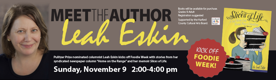 Meet Author Leah Eskin