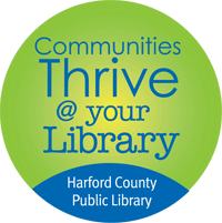 Communites Thrive @ Your Library - HCPL Logo
